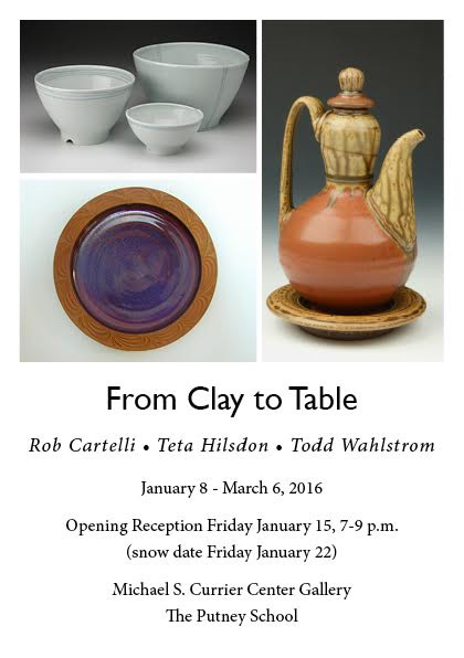 from clay to table